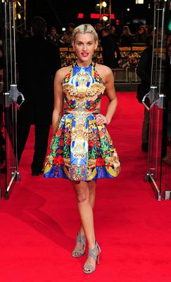 Ashley Roberts attending The Wolf of Wall Street UK premiere at the Odeon Leicester Square, London. Ian West/PA Wire