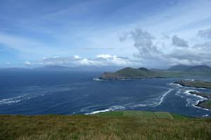"""We visited Valentia Island for the first time this summer, and this was the view from the radio mast, looking north to Dingle,"" says reader Olive Simpson."