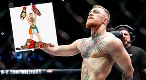 Conor McGregor had another pop at Mayweather on social media