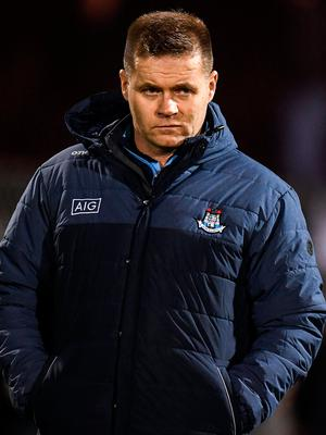 Dublin manager Dessie Farrell. Photo: Harry Murphy/Sportsfile