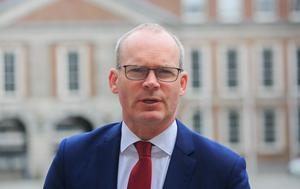 'There was much huffing and puffing about Foreign Affairs Minister Simon Coveney'. Photo: Gareth Chaney / Collins