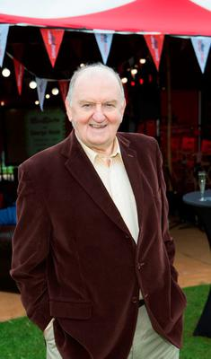 George Hook took to the Newstalk Lounge at Electric Picnic 2015. George hosted a Blind Date with festival goers. Happy cople Donal McGowan and Sarah Phelan won a Champagne date.