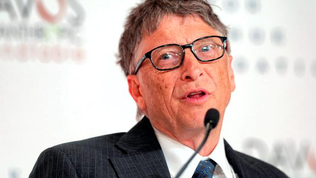 BILL GATES: Funny to think that just 15 years ago his Microsoft almost ran every operating system