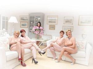 Charity hopes: The 24 women who posed naked want to raise £50,000 for NI Chest Heart and Stroke