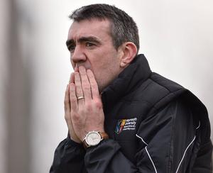 Johnny Doyle made his club championship debut for Allenwood in 1996 and he is still having a big impact on games 24 years later, as demonstrated over the weekend. Photo: Sportsfile