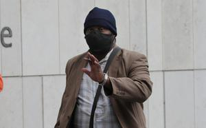 Sentencing: Prince Aibangbe at the Criminal Court of Justice in Dublin. Photo: Collins Courts