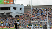 SANCTUARY: Stephen Cluxton kicks the winning point in 2011. Photo: Brian Lawless/Sportsfile