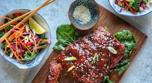 Hong Kong-style Char Sui BBQ Ribs With Five Spice & Ginger