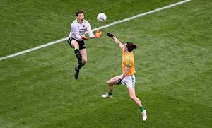 COMMANDING: Mayo's David Clarke has been a game-saver on countless occasions. Photo: Daire Brennan/Sportsfile