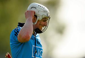Dublin's Liam Rushe dejected after the game