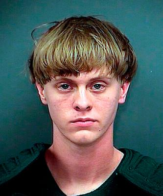 Mass murderer Dylann Roof Picture: Getty