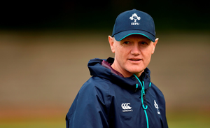 Ireland head coach Joe Schmidt during squad training in Westerford High School, Cape Town, South Africa Picture: Sportsfile