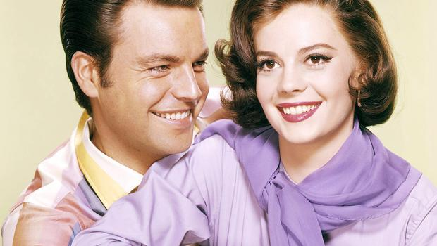 Robert Wagner and Natalie Wood in 1957