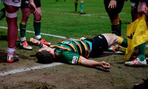 George North has a history of concussion injuries