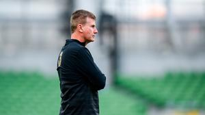 Republic of Ireland manager Stephen Kenny has endured a difficult start to his tenure. Photo by Stephen McCarthy/Sportsfile