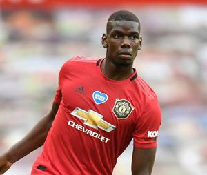 Manchester United's Paul Pogba. Photo: Peter Powell/Pool via Reuters