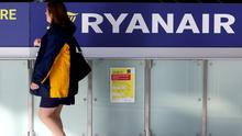 Ryanair has branded Government guidelines urging airline passengers to check in all their luggage as 'rubbish' (Brian Lawless/PA)