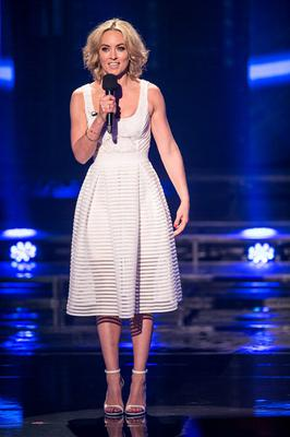 Kathryn Thomas during the third live show of The Voice of Ireland in The Helix.