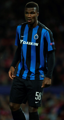 Obbi Oulare left Club Brugge to join Watford for a fee of £6m