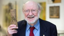 Visionary: Nobel Prize winner Professor William Campbell worked on the development of the drug
