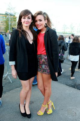 Orlagh McCann and Louise Hillman, Belfast at the Beyonce concert at the O2, Dublin.