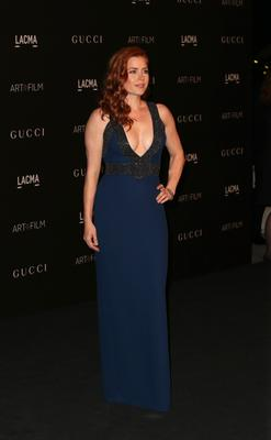 Actress Amy Adams attends the 2014 LACMA Art + Film Gala honoring Barbara Kruger and Quentin Tarantino presented by Gucci at LACMA