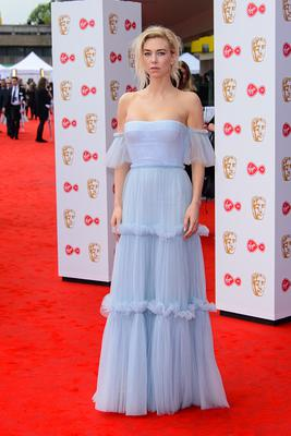 Vanessa Kirby attends the Virgin TV BAFTA Television Awards at The Royal Festival Hall on May 14, 2017 in London, England. (Photo by Joe Maher/Getty Images)