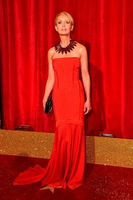 Lysette Anthony attending the British Soap Awards 2016 at the Hackney Empire, 291 Mare St, London. PRESS ASSOCIATION Photo. Picture date: Saturday May 28, 2016. See PA Story SHOWBIZ Soap. Photo credit should read: Matt Crossick/PA Wire