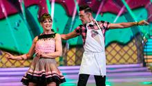 TRIMMED: Teresa Mannion with Ryan McShane dancing to 'Tutti Frutti' by Little Richard in 'Dancing with the Stars'