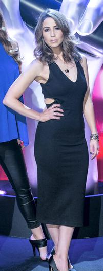 Rachel Stevens  during a recording of The Voice of Ireland in The Helix.
