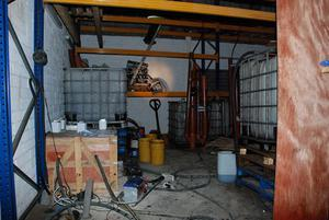 Customs Service undated handout photo of an oil laundering plant with the capacity to process more than 2.5 million litres of fuel a year has been discovered in Dublin.