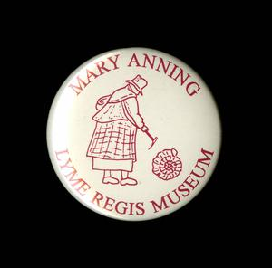 The badge is from the Lyme Regis Museum (XXXX/PA)