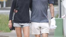 Michael Fassbender & Alicia Vikander confirm they are a couple as they stroll arm in arm in Sydney, Australia. Picture: INFphoto.com
