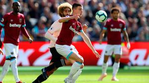 Declan Rice's current contract earns him €3,400 a week. Photo: Getty