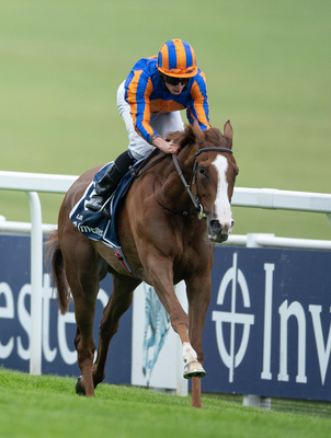 Love (Ryan Moore) won the Investec Oaks by 9 lengths at Epsom