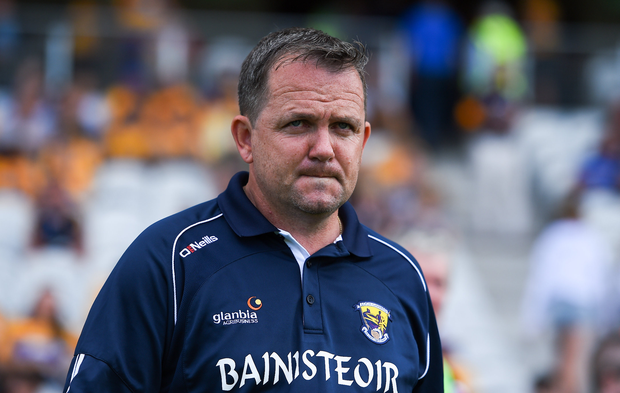 14 July 2018; Wexford manager Davy Fitzgerald prior to the GAA Hurling All-Ireland Senior Championship Quarter-Final match between Clare and Wexford at Páirc Ui Chaoimh in Cork. Photo by Brendan Moran/Sportsfile