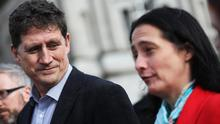 Green Party leader Eamon Ryan and deputy Catherine Martin. Picture: RollingNews.ie