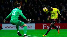 Abdoulaye Doucoure of Watford scores his sides second goal   Photo: Getty