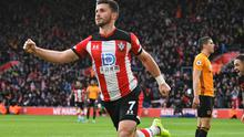 Long has started six out of Southampton's last seven games and won praise from his manager for his contribution. Photo: Reuters/Dylan Martinez