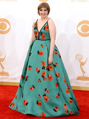 Lena Dunham - At just 24 years, she's the brains behind global hit 'Girls' and is fast becoming the poster girl for modern feminism in Hollywood.