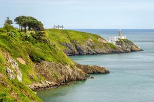 Bailey Lighthouse, Howth Head, Dublin.