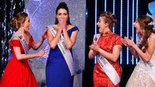 OffalyRose Jennifer Byrne who was crowned as the 2017 International Rose of Tralee at the Festival in Tralee Co Kerry. Pic Steve Humphreys 22nd August 2017