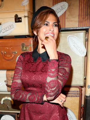Eva Mendes attends the Eva Mendes + New York & Company fashion show during September 2016 - New York Fashion Week at Academy Mansion on September 6, 2016 in New York City.  (Photo by Rob Kim/FilmMagic)