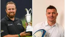 Open champion Shane Lowry and former Ireland rugby captain Brian O'Driscoll were among those who took part in a video to urge people to stay at home and flatten the curve of the Covid-19 pandemic