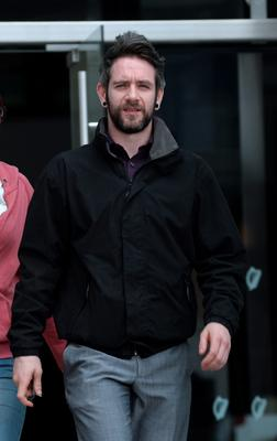 Colm Walsh pleaded guilty to obstructing a garda