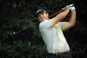 Patrick Reed of the USA hits his tee-shot on the fifth hole during the first round of the WGC - HSBC Champions at the Sheshan International Golf Club