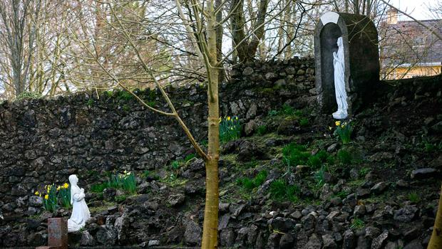 A grotto at the former Bon Secours-run hospital in Tuam Photo: Andy Newman