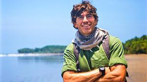 Simon Reeve in The Americas.  PIC: BBC2