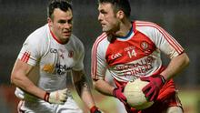 Brian McIver knows that Derry need a top-class forward like Eoin Bradley (right) to win an Ulster Championship. Photo: Oliver McVeigh / SPORTSFILE