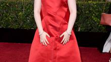 Actress/writer Lena Dunham attends the 72nd Annual Golden Globe Awards at The Beverly Hilton Hotel